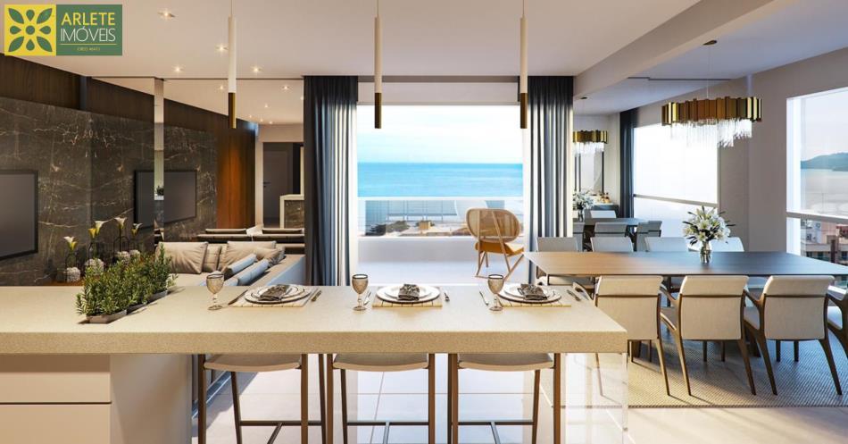 7 - Sala c/vista pro mar apartamento a venda Perequê