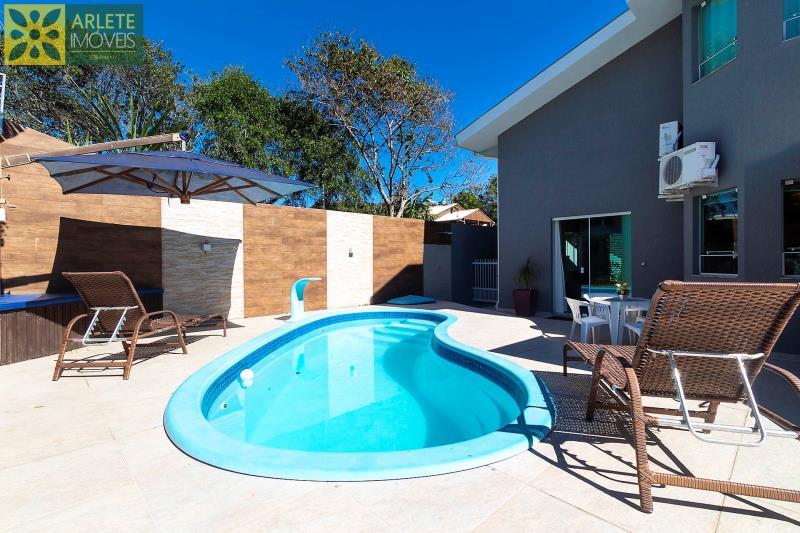 1 - área de lazer casa com piscina para aluguel em Bombinhas