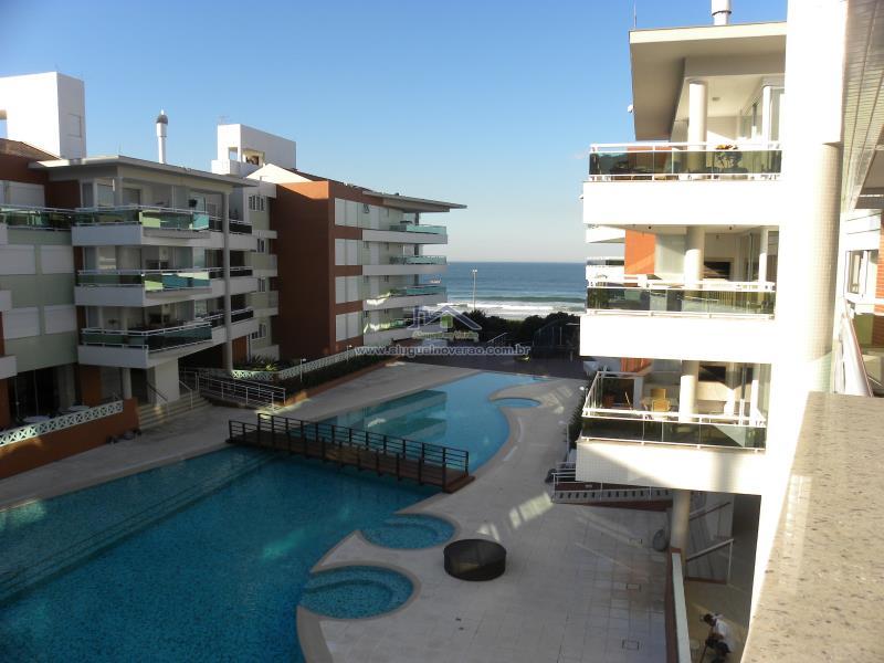 Apartamento Codigo 11607 para temporada no bairro Praia Brava na cidade de Florianópolis Condominio águas da brava