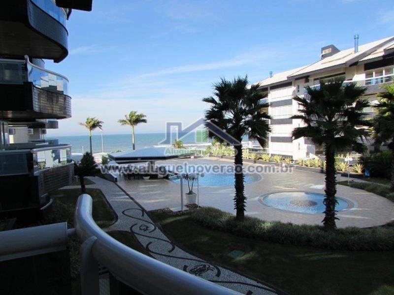 Cobertura Duplex Codigo 11506 para temporada no bairro Praia Brava na cidade de Florianópolis Condominio água marinha