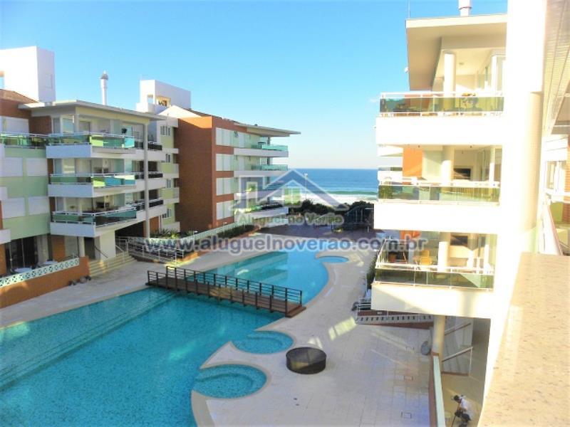 Apartamento Codigo 11608 para temporada no bairro Praia Brava na cidade de Florianópolis Condominio águas da brava