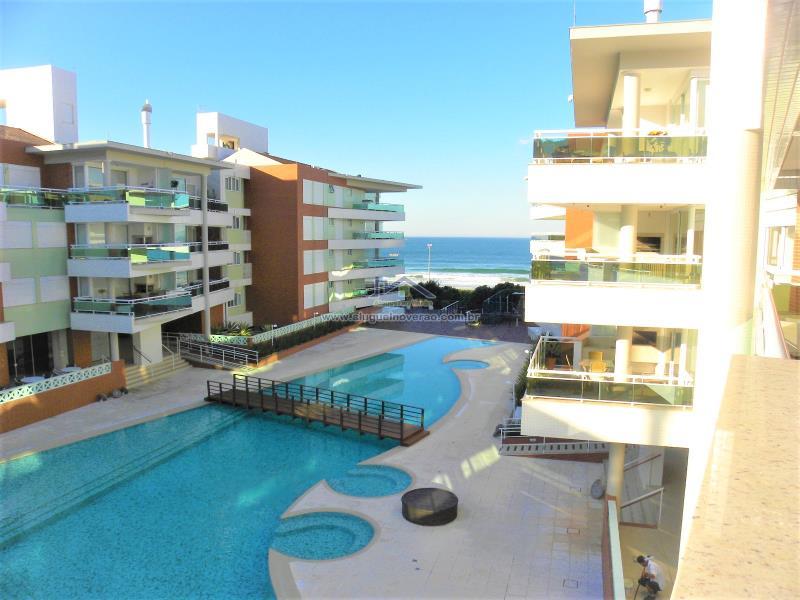 Apartamento Codigo 11610 para temporada no bairro Praia Brava na cidade de Florianópolis Condominio águas da brava