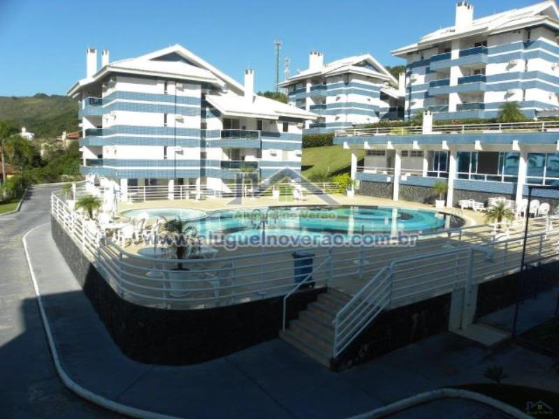 Apartamento Codigo 11201 para temporada no bairro Praia Brava na cidade de Florianópolis Condominio água azul