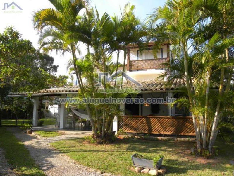 Casa Codigo 2039 para temporada no bairro Lagoinha na cidade de Florianópolis Condominio