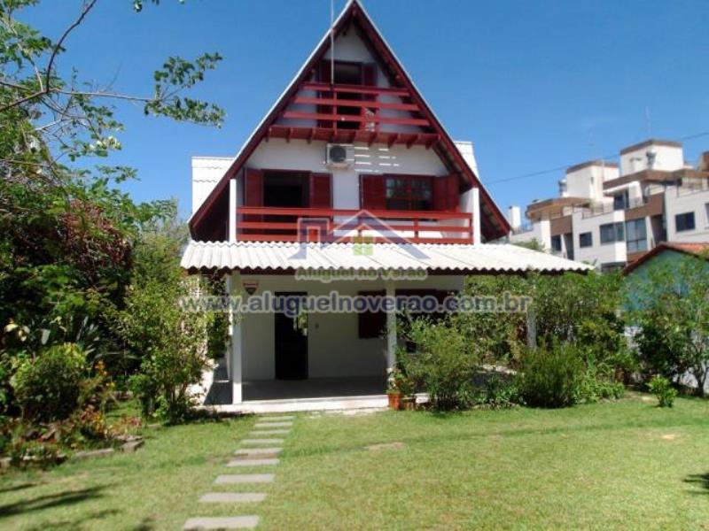 Casa Codigo 3039 para temporada no bairro Ponta das  Canas na cidade de Florianópolis Condominio