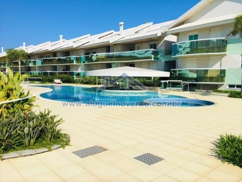 Apartamento Codigo 22500 para temporada no bairro Lagoinha na cidade de Florianópolis Condominio angra da lagoinha