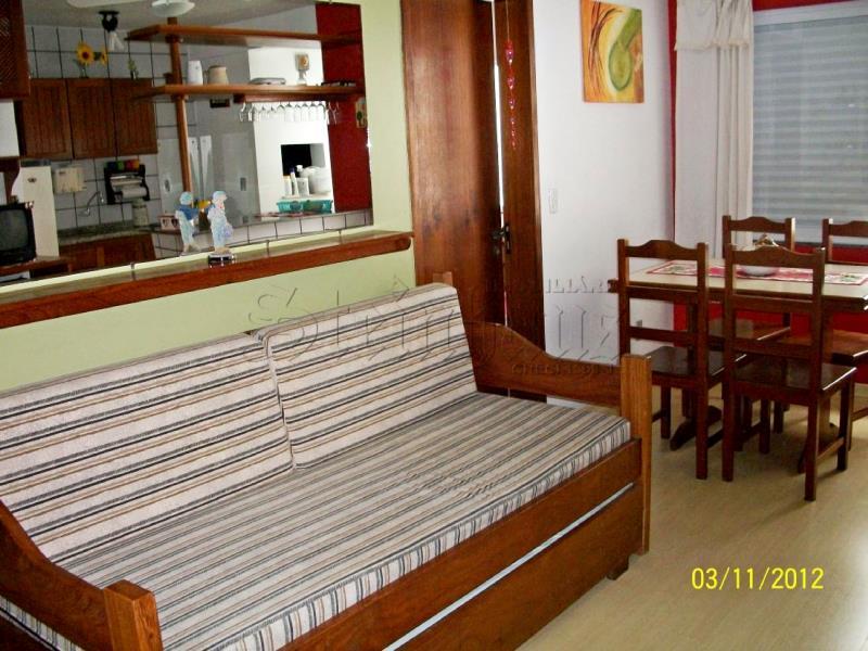 Apartamento Código 7048 para Temporada no bairro Canasvieiras na cidade de Florianópolis