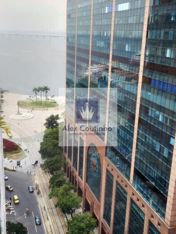 EDIFÍCIO RB1 - UM MARCO DOS EDIFÍCIOS MODERNOS  DE ALTO PADRÃO NO CENTRO DO RJ -  Em localização estratégica o edifício RB 1 foi um dos primeiros edifício com lajes corporativas de alto padrão construído no centro do Rio de Janeiro. Localizado na Praça Mauá, o edifício faz a ligação perfeita entre a região do porto maravilha e a Av. Rio Branco (centro financeiro da cidade). Com uma arquitetuta imponente, tecnologia de ponta e infra-estrutura maravilhosa em seu entorno, o RB 1 também possui exc...