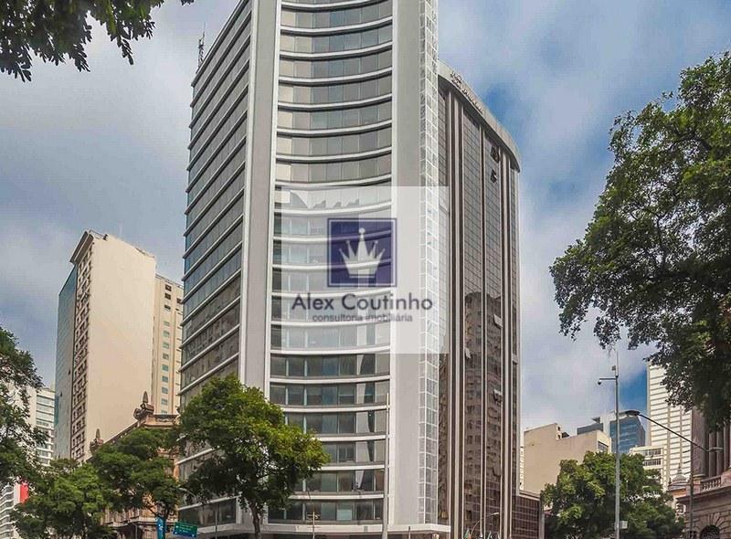 AV. RIO BRANCO (O MELHOR CUSTO BENEFÍCIO DA REGIÃO) Laje Corporativa/andar corrido em edifício novo e moderno. A laje possui aproximadamente 300m2, tem 5 banheiros, copa, o andar todo está em open space. O edifício além de bonito é imponente e possui excelente apresentação e fica em localização privilegiada.  CARACTERÍSTICAS: Estado de entrega do imóveil: prontíssimo com forro, luminárias e arcondicionado central/vrf (split). Edifício bonito recentemente retorfitado todo em pele de vidro, lo...