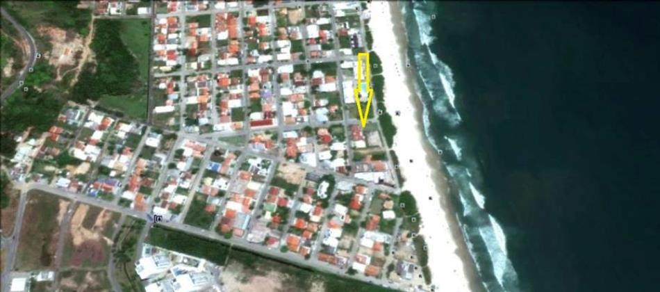 Localizado: EM FRENTE AO MAR,  Na Avenida Atlântica - Gaivotas - Praia de Palmas - Governador Celso Ramos / SC