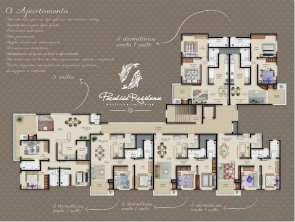Plantas Humanizadas  - Apartamentos
