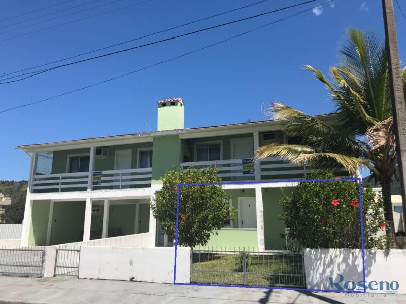 Apartamento - Código 100 para Temporada  no bairro Palmas na cidade de Governador Celso Ramos