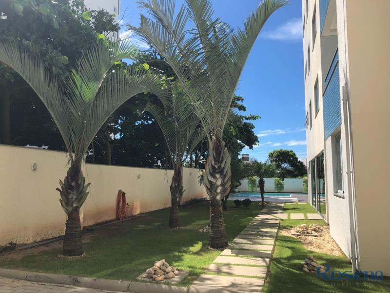 área externa condominio