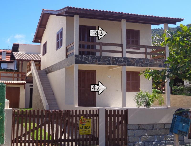 Apartamento Código 43 para Temporada no bairro Morrinhos na cidade de Garopaba