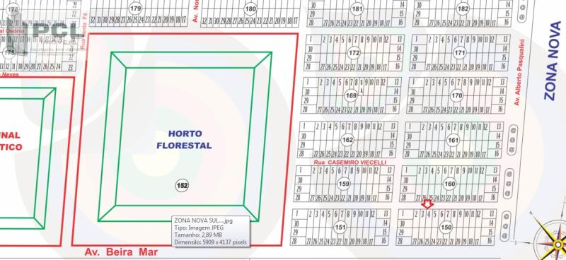 Terreno Código 9641 a Venda no bairro ZONA NOVA na cidade de Tramandaí