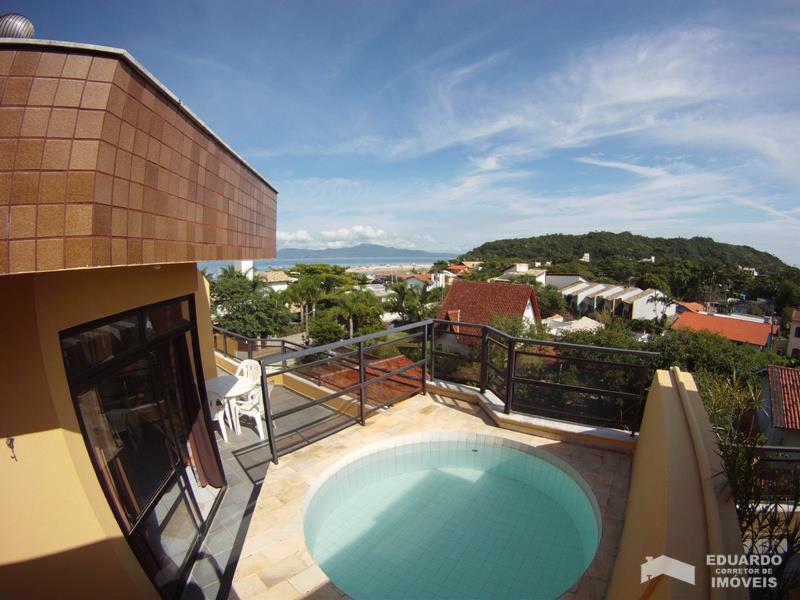 Cobertura Duplex Código 373Temporada no bairro Ponta das  Canas na cidade de Florianópolis