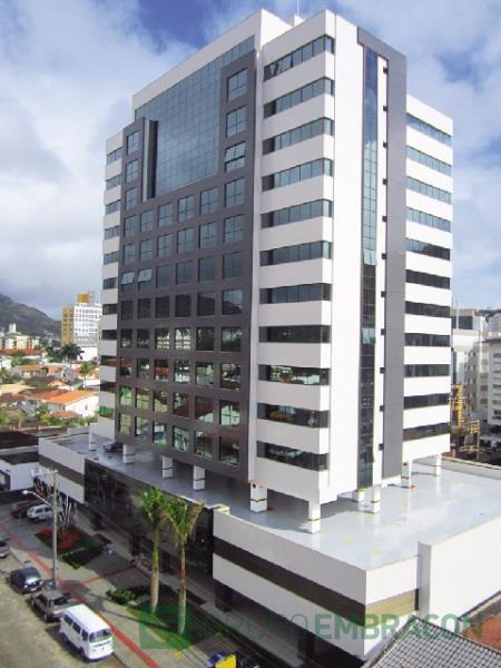 Sala Código 161 para locação The Place Office no bairro Trindade na cidade de Florianópolis