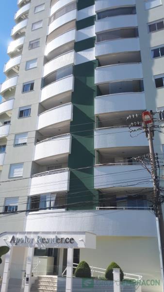Apartamento Código 737 para comprar no bairro Barreiros na cidade de São José