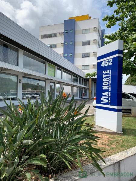 Sala Código 906 para Locação no bairro Itacorubi na cidade de Florianópolis
