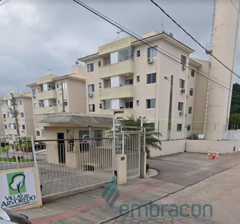 Apartamento Código 954 para comprar Villas do Arvoredo no bairro Areias na cidade de São José