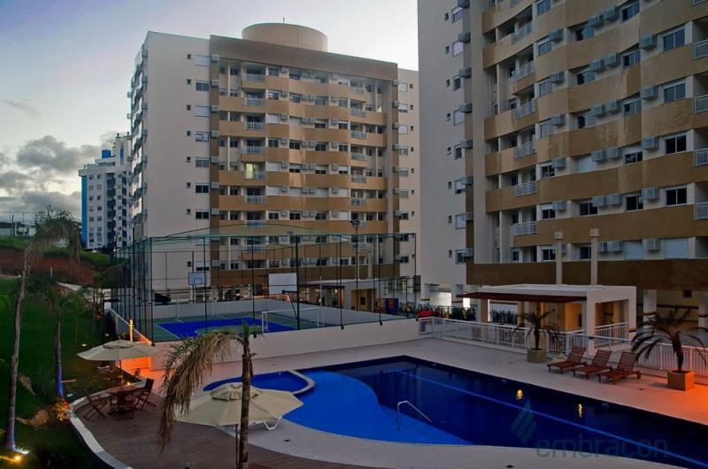 Apartamento Código 984 para Locação no bairro Itacorubi na cidade de Florianópolis