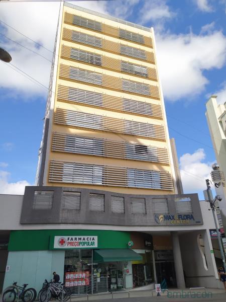 Sala Código 1030 para locação Max e Flora Center no bairro Trindade na cidade de Florianópolis