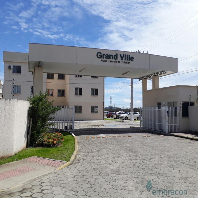 Apartamento Código 1058 para locação Grand Ville no bairro Guarda do Cubatão na cidade de Palhoça
