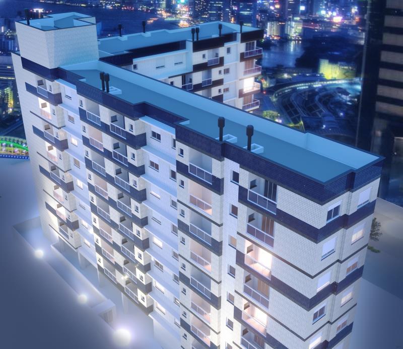 Apartamento Código 6926 a Venda no bairro Centro na cidade de Santa Maria Condominio residencial dom valmor