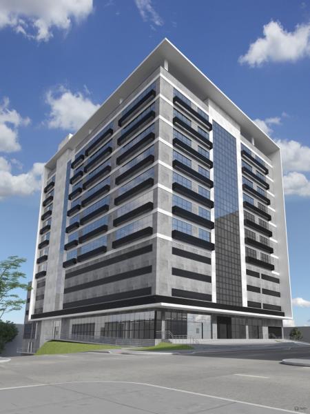 Sala Código 6978 a Venda no bairro Centro na cidade de Santa Maria Condominio office tower