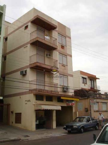 Apartamento Código 206 para alugar no bairro Centro na cidade de Santa Maria Condominio cond. resid. alcides carvalho