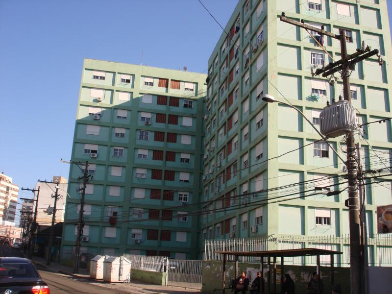Apartamento Código 231 para alugar no bairro Centro na cidade de Santa Maria Condominio condominio joão xxiii