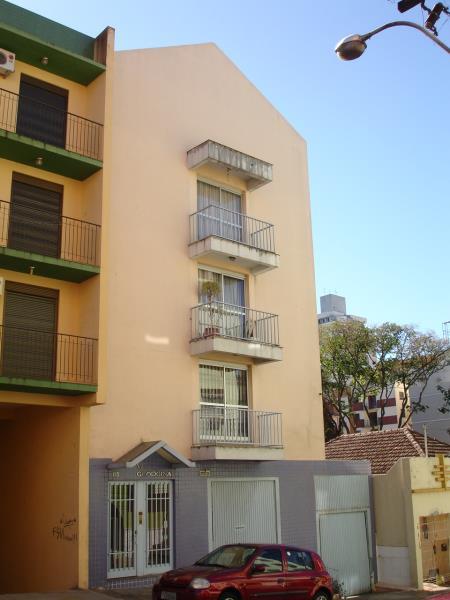 Apartamento Código 394 para alugar no bairro Centro na cidade de Santa Maria Condominio ed. villa georgina