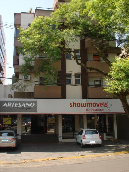 Apartamento Código 603 para alugar no bairro Centro na cidade de Santa Maria Condominio cond. ed. resid. comerc. pedro missioneiro