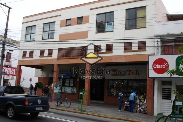 Sala Código 1582 para alugar no bairro Centro na cidade de Santa Maria Condominio conj. com.  galeria krebs
