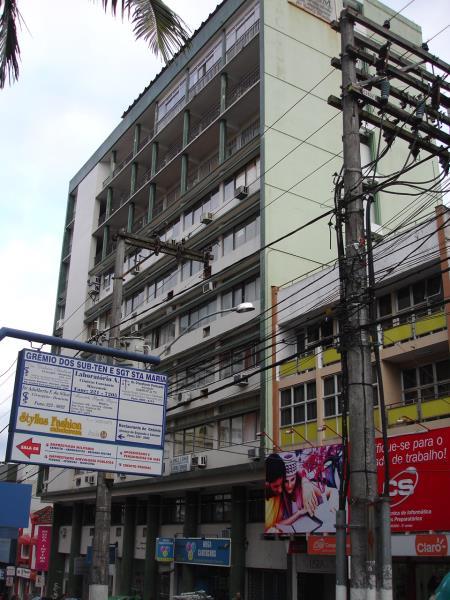 Sala Código 3554 para alugar no bairro Centro na cidade de Santa Maria Condominio cacism