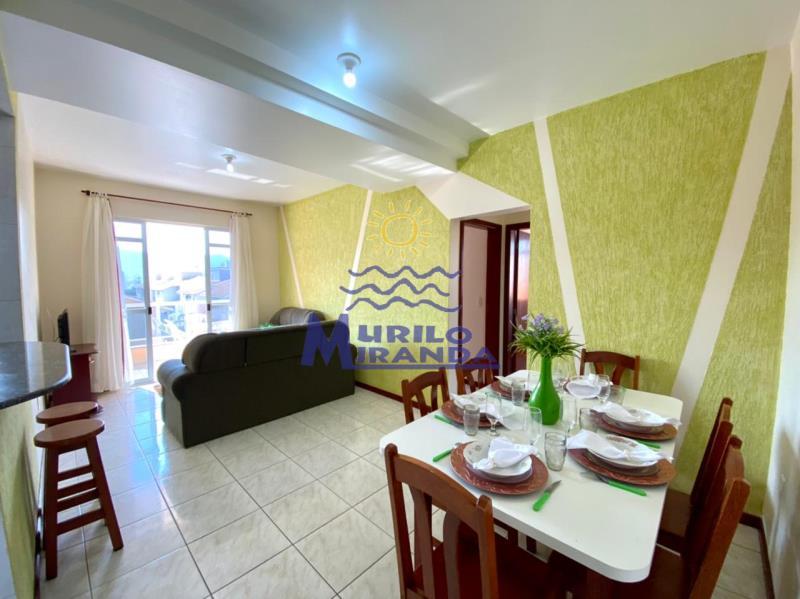 Apartamento Codigo 91 para locação de temporada no bairro PALMAS na cidade de Governador Celso Ramos