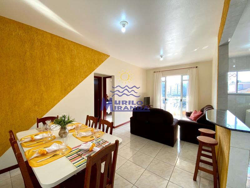 Apartamento Codigo 107 para locação de temporada no bairro PALMAS na cidade de Governador Celso Ramos