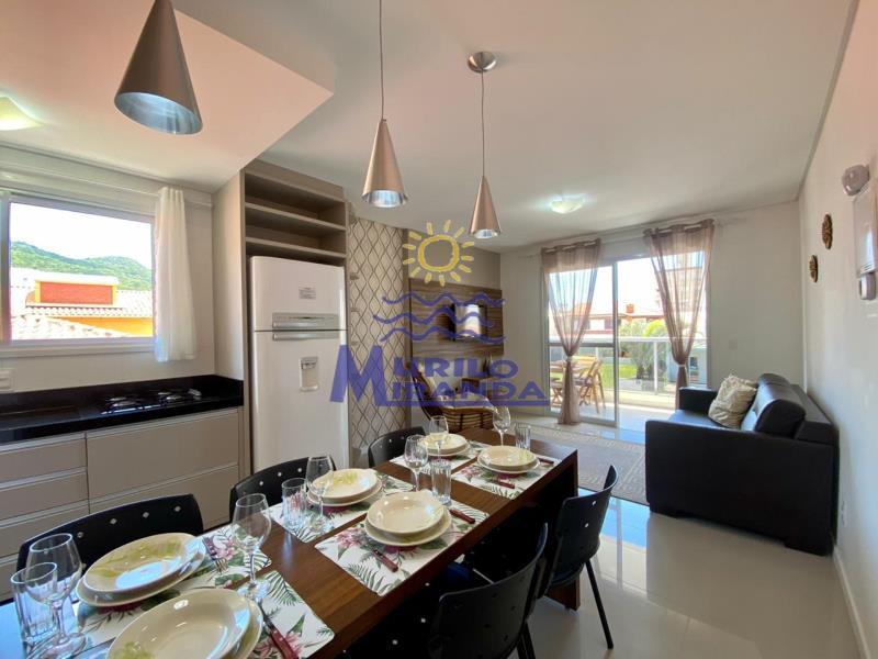 Apartamento Codigo 128 para locação de temporada no bairro PALMAS na cidade de Governador Celso Ramos