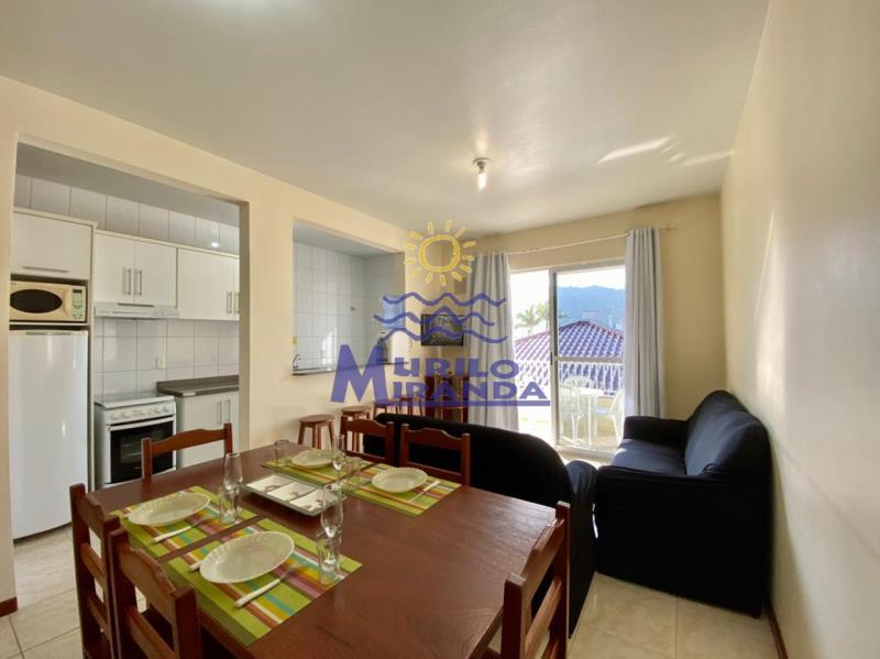 Apartamento Codigo 215 para locação de temporada no bairro PALMAS na cidade de Governador Celso Ramos