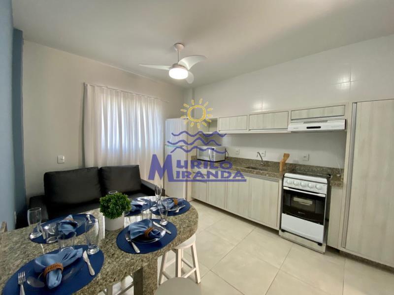 Apartamento Codigo 248 para locação de temporada no bairro PALMAS na cidade de Governador Celso Ramos