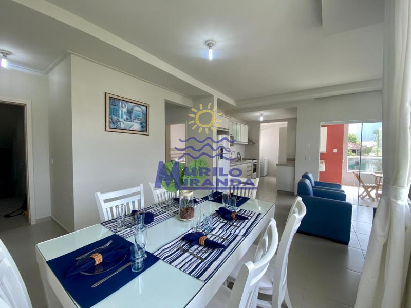 Apartamento Codigo 261 para locação de temporada no bairro PALMAS na cidade de Governador Celso Ramos