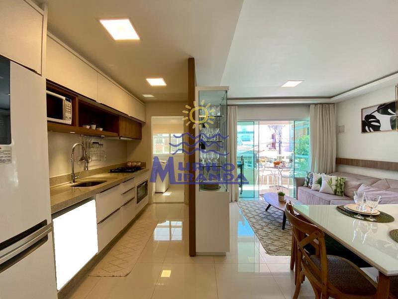 Cozinha, sala de jantar e estar