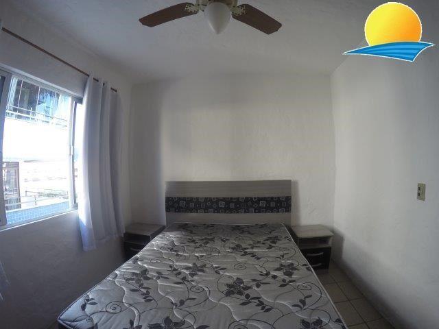 Apartamento com o Código 189 para alugar no bairro Canasvieiras na cidade de Florianópolis com 1 dormitorio(s) possui 1 garagem(ns) possui 1 banheiro(s)