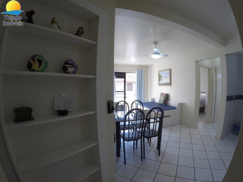 Apartamento com o Código 10001140 à Venda no bairro Canasvieiras na cidade de Florianópolis com 1 dormitorio(s) possui 1 garagem(ns) possui 1 banheiro(s) com área de 42,70 m2