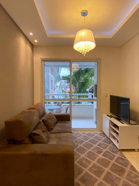 Apartamento com o Código 1443 à Venda no bairro Canasvieiras na cidade de Florianópolis com 2 dormitorio(s) possui 1 garagem(ns) possui 2 banheiro(s) com área de 45,88 m2