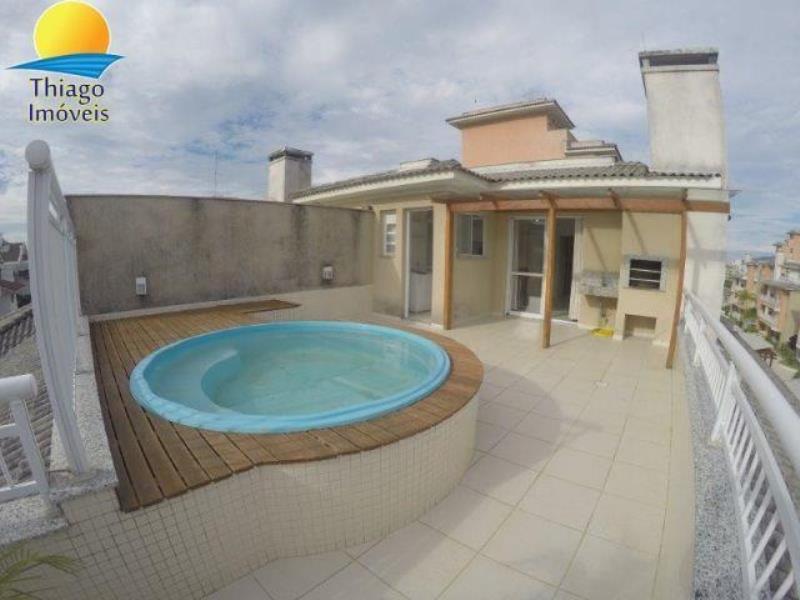 Cobertura com o Código 10001646 para alugar no bairro Ingleses do Rio Vermelho na cidade de Florianópolis com 2 dormitorio(s) possui 3 garagem(ns) possui 2 banheiro(s)