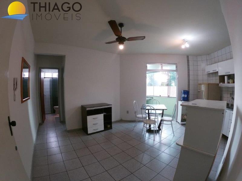 Apartamento com o Código 1648 para alugar no bairro Canasvieiras na cidade de Florianópolis com 1 dormitorio(s) possui 1 garagem(ns) possui 1 banheiro(s) com área de 46,50 m2