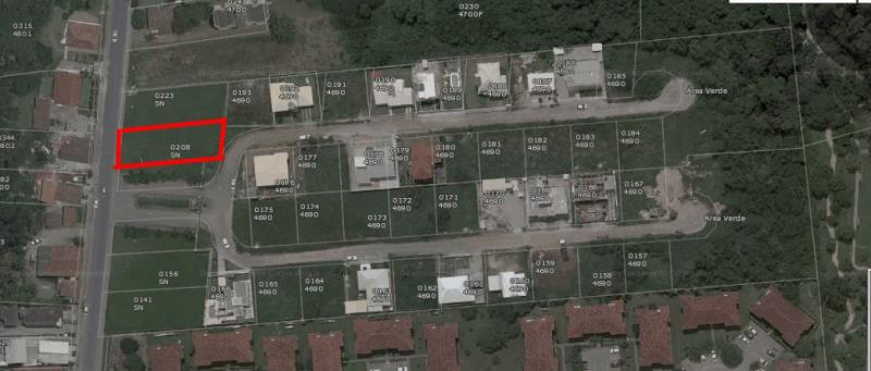 Terreno com o Código 100010 à Venda no bairro Canasvieiras na cidade de Florianópolis