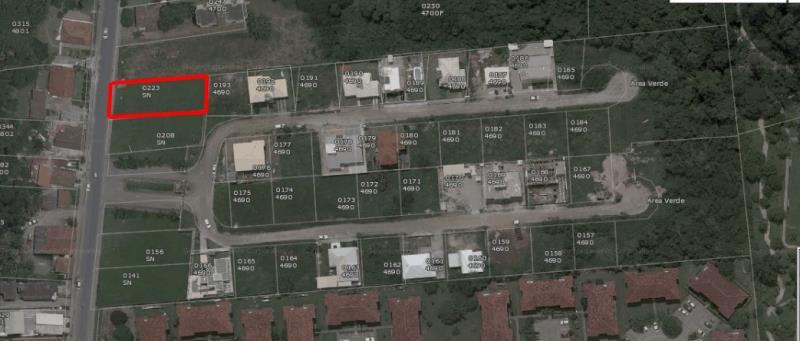 Terreno com o Código 100011 à Venda no bairro Canasvieiras na cidade de Florianópolis