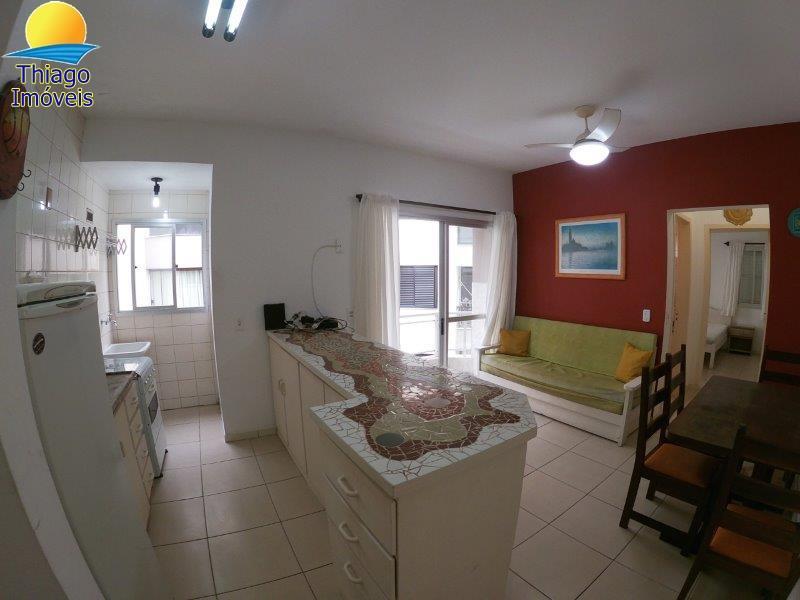 Apartamento com o Código 100020333 para alugar no bairro Canasvieiras na cidade de Florianópolis com 1 dormitorio(s) possui 1 garagem(ns) possui 1 banheiro(s) com área de 45,27 m2